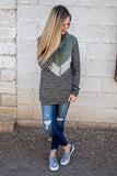 Perfectly Content Cowl Neck Top