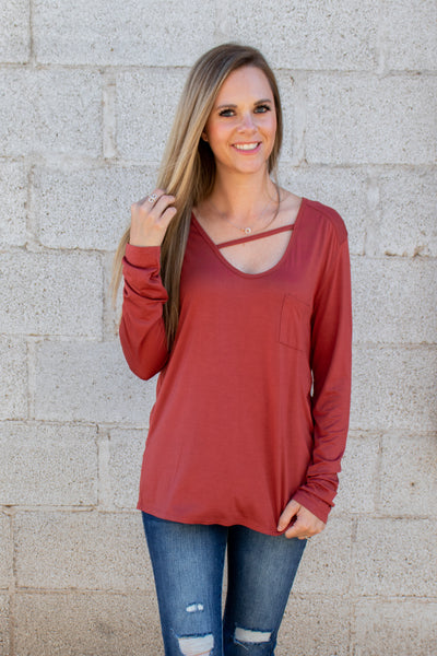 Pull It All Together Top (Multiple Colors)