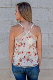 Being My Best Floral Tank (Multiple Colors)