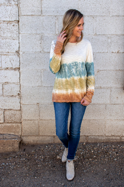 Beyond Reality Tie Dye Top