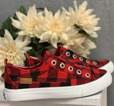 Play Sneaker- Buffalo Check~ Blowfish TODDLER