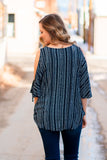 Must Have Been You Cold Shoulder Top