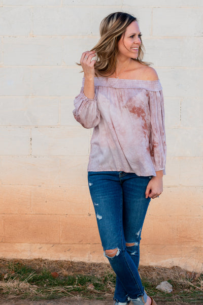 This Time Around Off The Shoulder Top