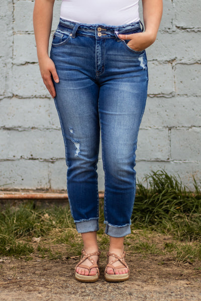 Gemma High Rise Ankle Skinny Jean~ KanCan