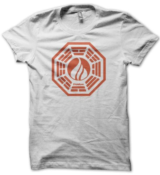"Lost DHARMA ""Flame"" Shirt"