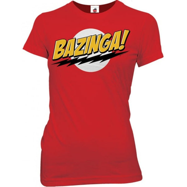 "The Big Bang Theory ""Bazinga!"" Juniors Shirt"