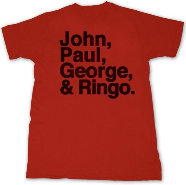 "Beatles ""John, Paul, George, and Ringo"" Shirt"