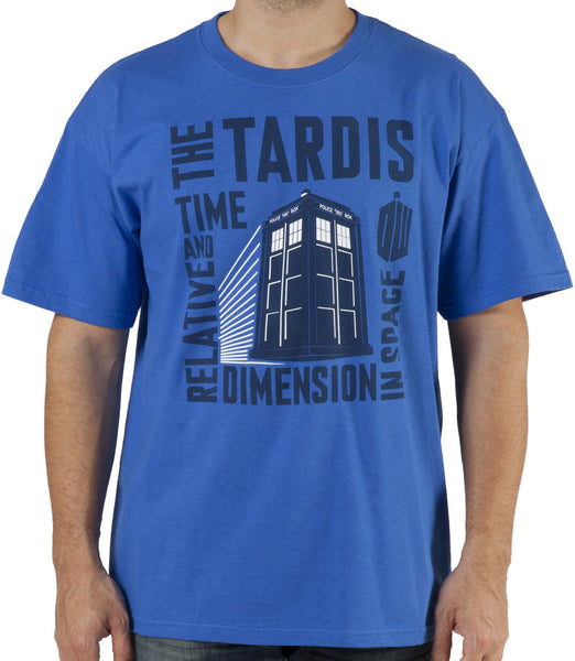 "Doctor Who ""Time and Relative Dimension In Space"" Shirt"