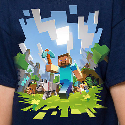"Minecraft ""Adventure"" Youth Shirt"