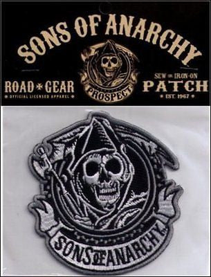 Sons of Anarchy Officially Licensed Embroidered Patch