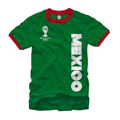 "2014 FIFA World Cup ""Mexico"" Ringer Shirt"