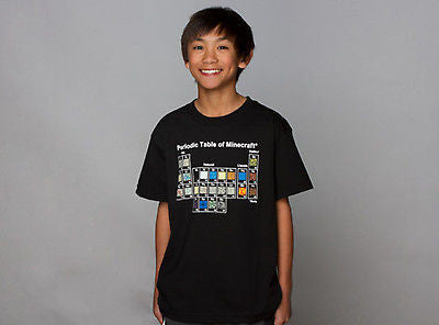 "Minecraft ""Periodic Table"" Youth Shirt"