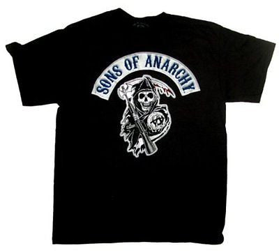 "Sons of Anarchy ""Reaper Logo Patch"" Shirt"