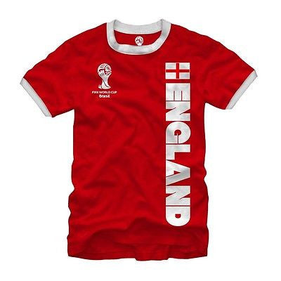 "2014 FIFA World Cup ""England"" Ringer Shirt"
