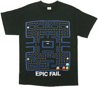 "Pac-Man ""Epic Fail"" Shirt"