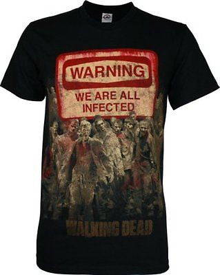"The Walking Dead ""Warning Sign"" Shirt"