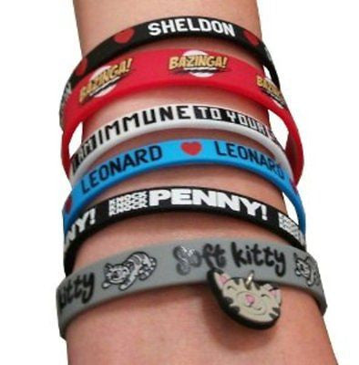The Big Bang Theory Rubber Bracelet Set