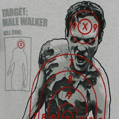 "The Walking Dead Walking ""Target"" Shirt"