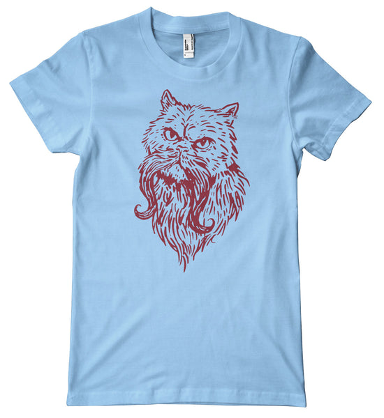 Moustache Cat Premium T-Shirt