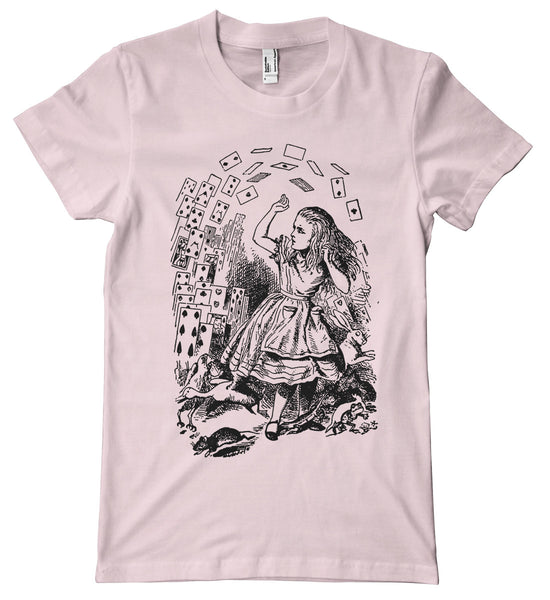 Alice in Wonderland Cards Premium T-Shirt