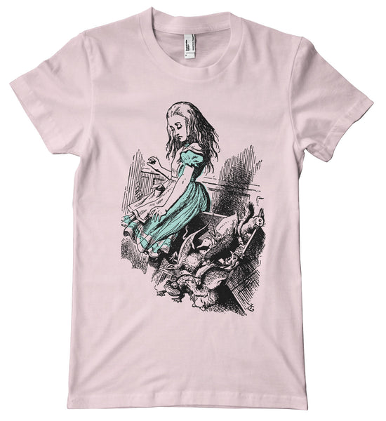 Alice in Wonderland Animal Court Premium T-Shirt