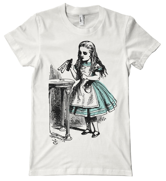 Alice in Wonderland Drink Me Premium T-Shirt