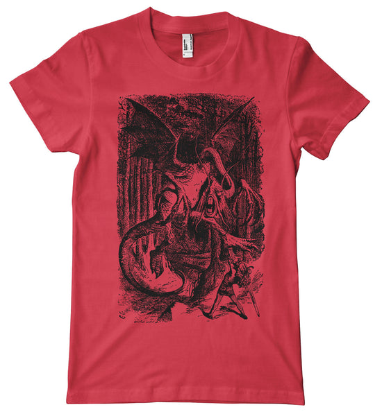 Alice in Wonderland Jabberwocky Premium T-Shirt