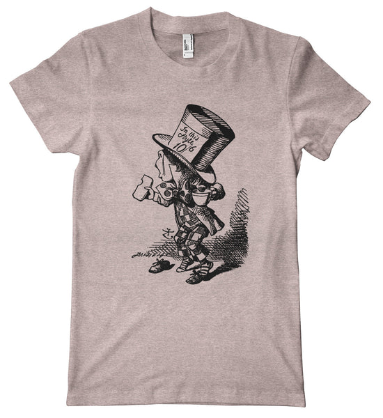 Alice in Wonderland Mad Hatter Premium T-Shirt