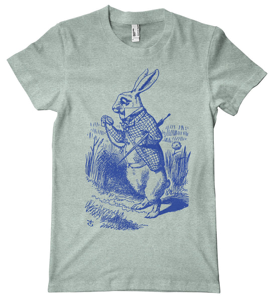 Alice in Wonderland White Rabbit Premium T-Shirt