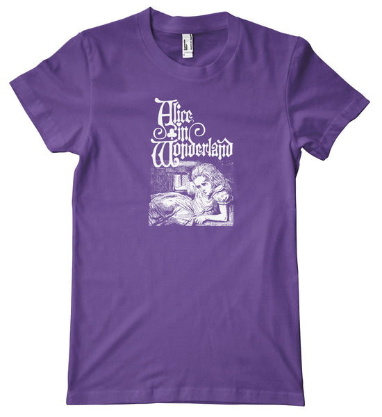 Alice in Wonderland Growing Alice Premium T-Shirt