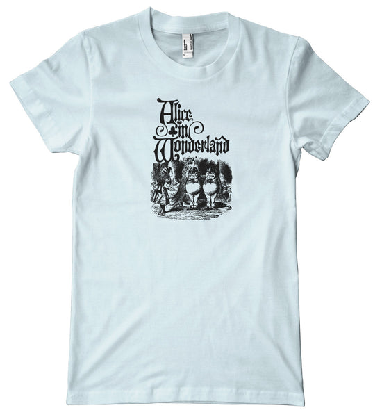Alice in Wonderland Tweedledee &Tweedledum Premium T-Shirt