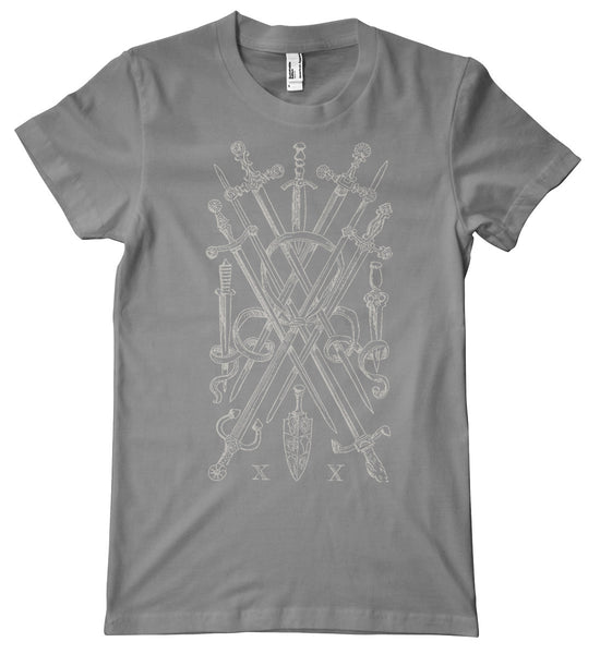 Tarot, Ten of Swords Premium T-Shirt