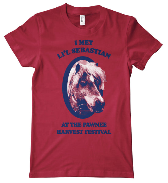 Where I Met Li'l Sebastian Premium T-Shirt