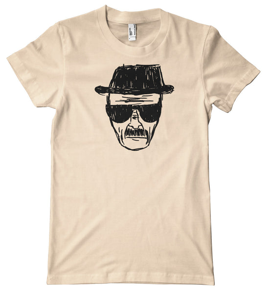 Breaking Bad Heisenberg Sketch Premium T-Shirt