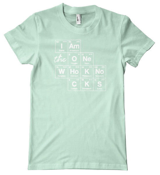 Breaking Bad I Am The One Who Knocks Premium T-Shirt