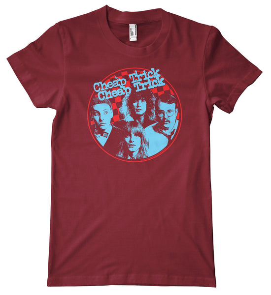 Cheap Trick Retro Logo Premium T-Shirt
