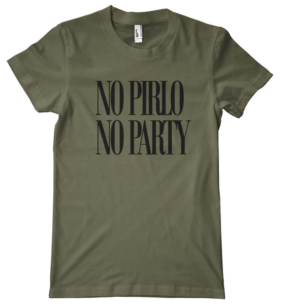 No Pirlo, No Party American Apparel T-Shirt