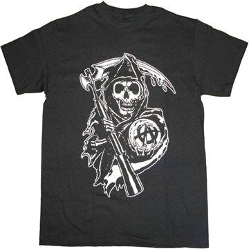 "Sons of Anarchy ""Reaper Classic Logo"" Shirt"