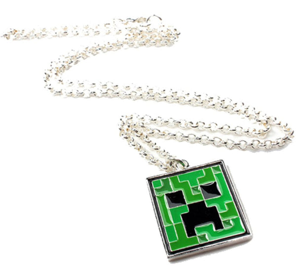 Accessories hivetees minecraft creeper pendant necklace aloadofball Gallery