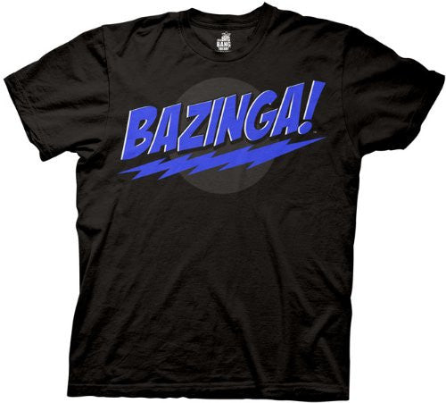 The Big Bang Theory Classic Bazinga! Shirt