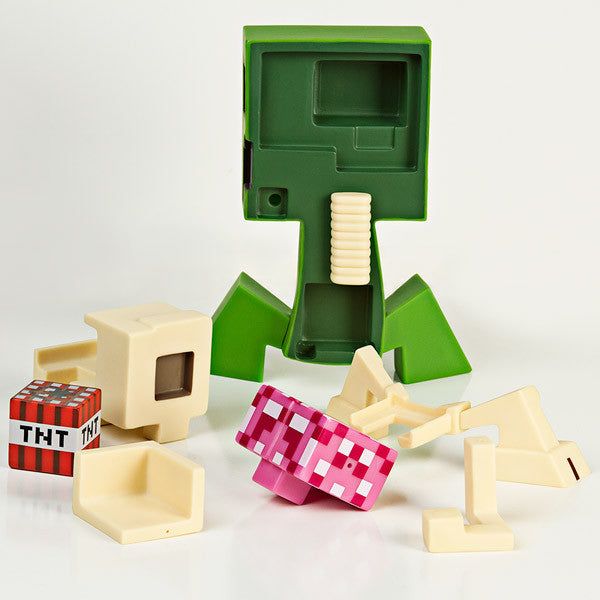 Minecraft Creeper Anatomy Deluxe Vinyl Figure
