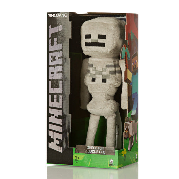 Jinx Minecraft Overworld - Skeleton Plush