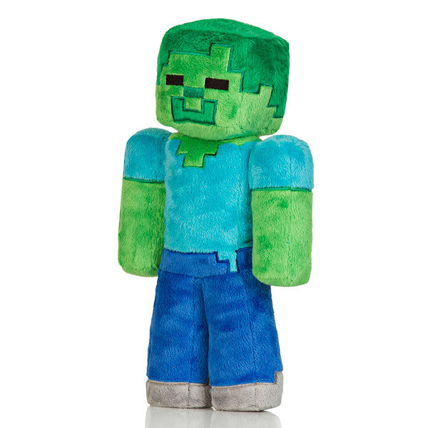 Jinx Minecraft Overworld - Zombie Plush