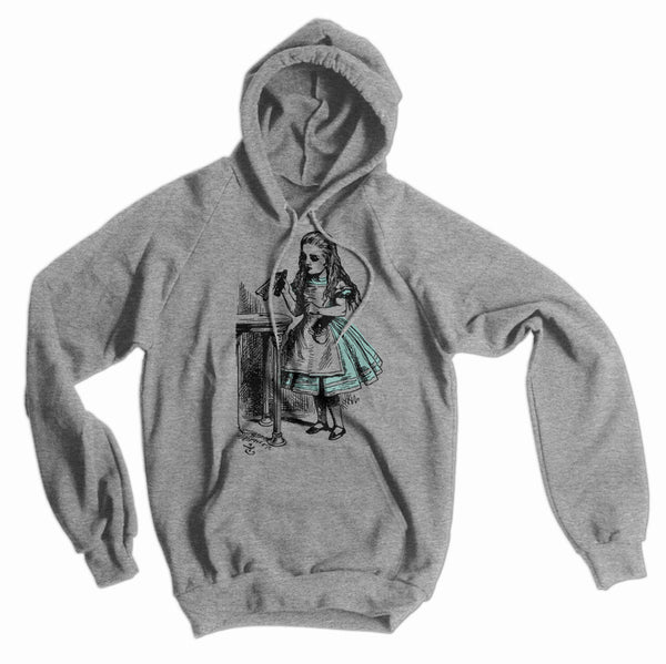 Alice in Wonderland Drink Me American Apparel Hoodie