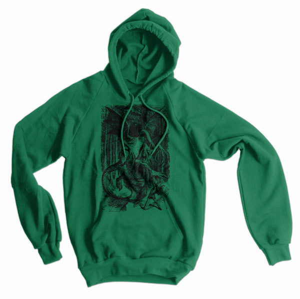 Alice in Wonderland Jabberwocky American Apparel Hoodie