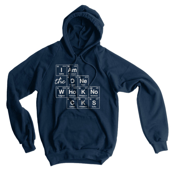 Breaking Bad I Am The One Who Knocks American Apparel Hoodie