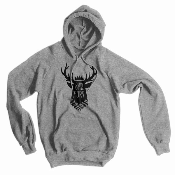 Baratheon Motto: Ours Is the Fury American Apparel Hoodie