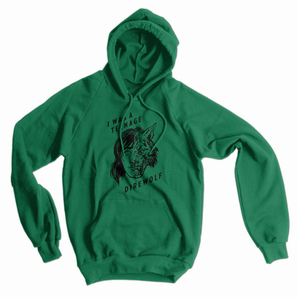 I Was a Teenage Direwolf American Apparel Hoodie