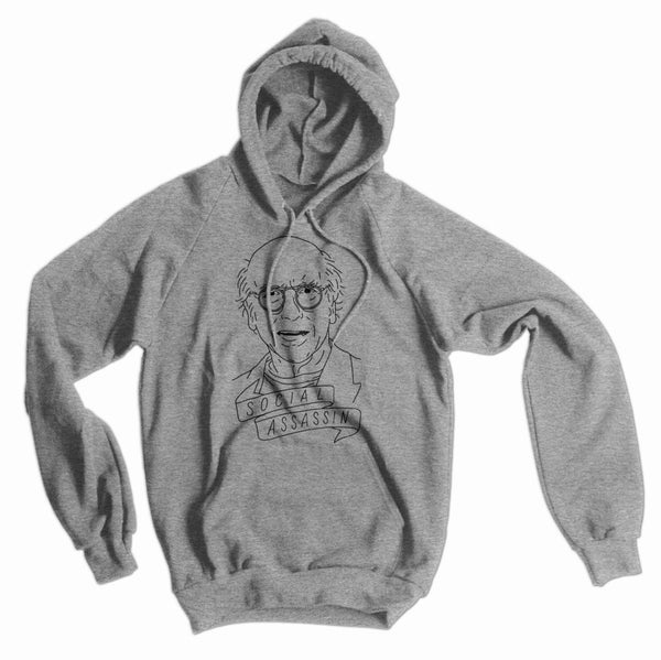 Larry David, Social Assassin American Apparel hoodie