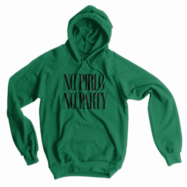 No Pirlo No Party American Apparel Hoodie